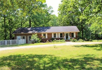 Waxhaw Single Family Home For Sale: 5408 Cane Creek Road