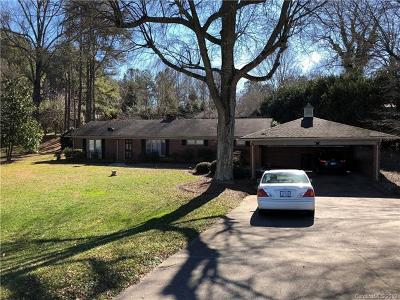Cherryville Single Family Home For Sale: 2010 Lincolnton Highway