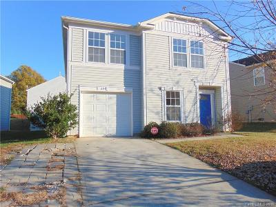 Charlotte Single Family Home Under Contract-Show: 6314 Foster Brook Drive