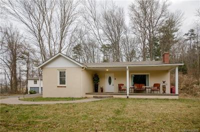 Single Family Home For Sale: 72 & 80 Mills Gap Road