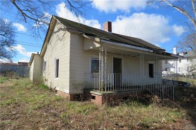 Chester Single Family Home For Auction: 605 W Elliott Street