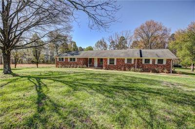 Charlotte Single Family Home For Sale: 6419 Pleasant Grove Road