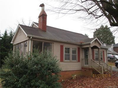 Rutherfordton NC Single Family Home For Sale: $91,900