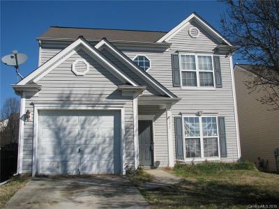Charlotte NC Single Family Home For Sale: $135,000