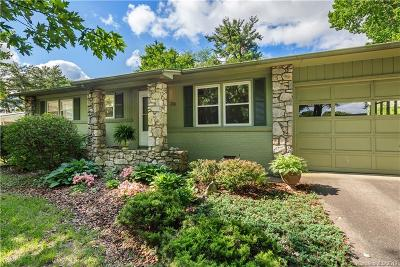 Asheville Single Family Home For Sale: 39 Skyview Terrace #50