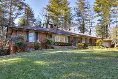 Hendersonville Single Family Home For Sale: 2520 Kanuga Road