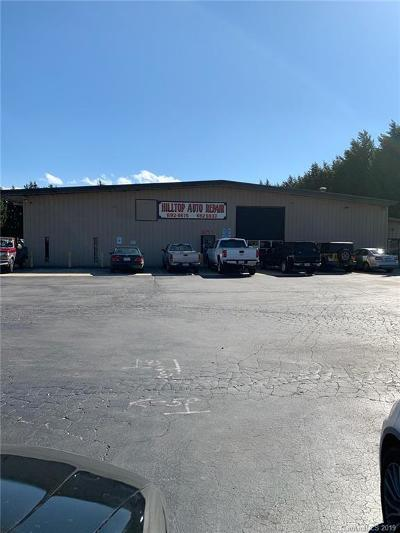 Henderson County Commercial For Sale: 577 Upward Road