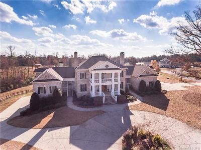 Waxhaw NC Single Family Home For Sale: $1,395,000