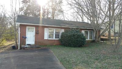 Shelby NC Single Family Home Under Contract-Show: $35,000