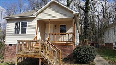 Kannapolis Single Family Home For Sale: 1005 Thomas Avenue