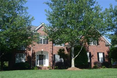 Matthews Single Family Home For Sale: 7111 Three Wood Drive