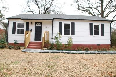 Rock Hill SC Single Family Home Under Contract-Show: $152,000