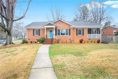 Charlotte Single Family Home For Sale: 1101 Montford Drive