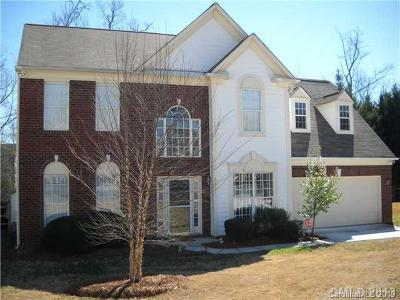 Charlotte Single Family Home For Sale: 2821 Yorkview Court
