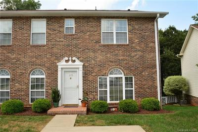 Mooresville Condo/Townhouse Under Contract-Show: 119 Teaberry Court
