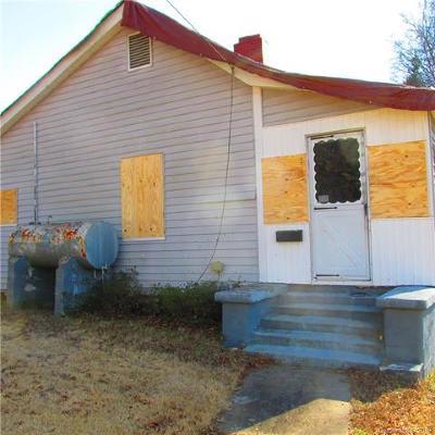 Gastonia NC Single Family Home For Sale: $16,500