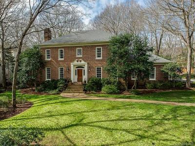 Charlotte Single Family Home For Sale: 7815 Baltusrol Lane