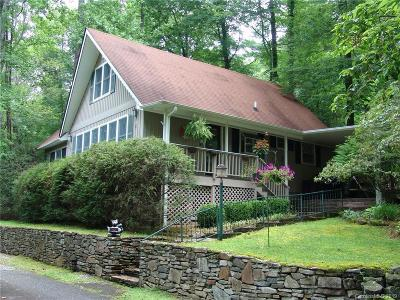 Transylvania County Single Family Home For Sale: 40 Toxaway Landing Drive #Chalet #