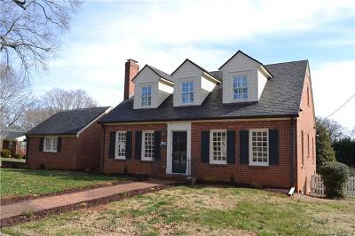 Statesville Single Family Home For Sale: 632 Oakland Avenue