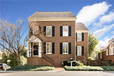Myers Park Single Family Home Under Contract-Show: 1415 Myers Park Drive