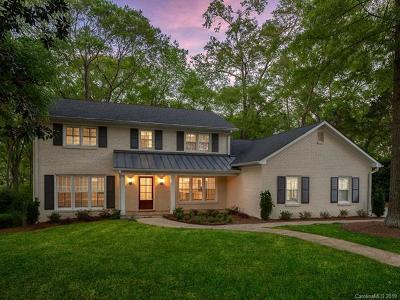 Charlotte Single Family Home For Sale: 4931 Sentinel Post Road
