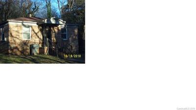 Charlotte Single Family Home For Sale: 2118 Gilbert Street
