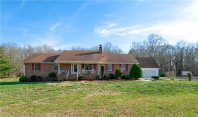 Monroe Single Family Home Under Contract-Show: 9003 Landsford Road
