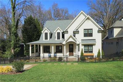 Myers Park Single Family Home Under Contract-Show: 2639 Idlewood Circle