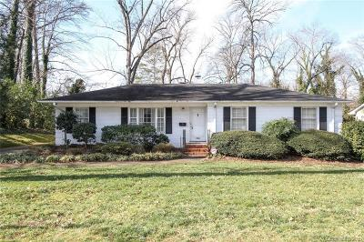 Myers Park Single Family Home Under Contract-Show: 1734 Jameston Drive