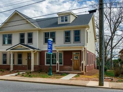 Cabarrus County Condo/Townhouse For Sale: 63 Cabarrus Avenue W #B