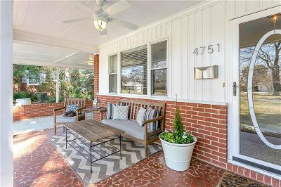 Charlotte Single Family Home Under Contract-Show: 4751 Amity Place