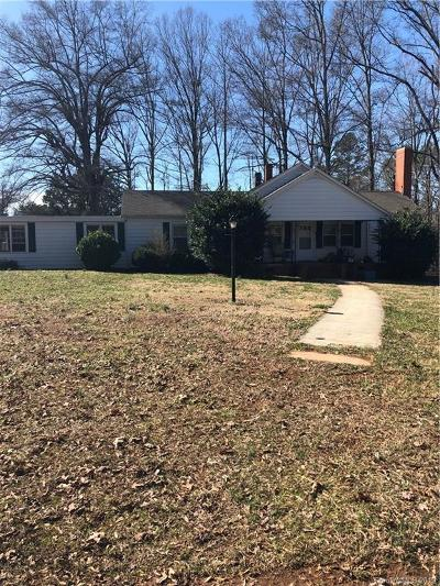 Statesville Single Family Home For Sale: 4621 Taylorsville Highway