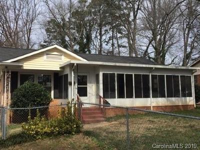 Charlotte Single Family Home For Sale: 1108 Interurban Avenue