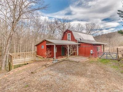 Saluda Single Family Home Under Contract-Show: 1077 Trammel Gap Road