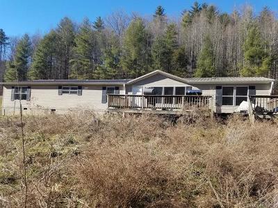 Marshall NC Single Family Home For Sale: $79,900