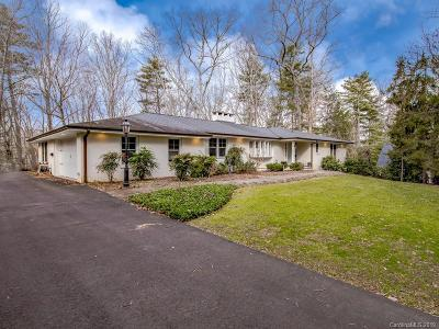 Biltmore Forest Single Family Home For Sale: 9 Forest Road
