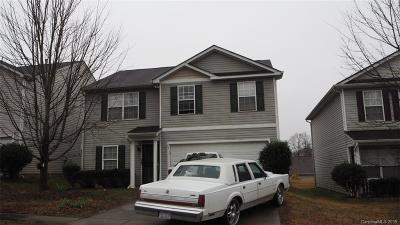 Charlotte NC Single Family Home For Sale: $136,000