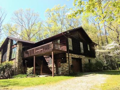 Buncombe County, Haywood County, Henderson County, Madison County Single Family Home For Sale: 112,  146 and 160 Frog And Fern Road