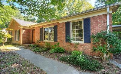 Charlotte Single Family Home For Sale: 6821 Old Post Road
