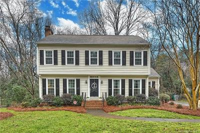 Charlotte Single Family Home For Sale: 4007 Bramwyck Drive