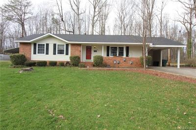 Gastonia NC Single Family Home For Sale: $160,000