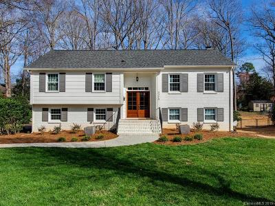 Charlotte Single Family Home Under Contract-Show: 3219 Eastburn Road