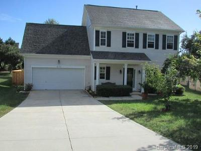 Charlotte Single Family Home Under Contract-Show: 4624 Sahalee Lane