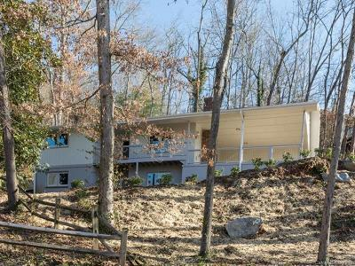 Asheville Single Family Home For Sale: 7 Bridle Path Road