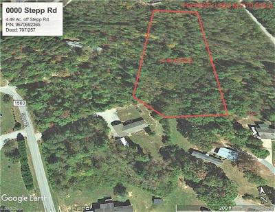 Henderson County Residential Lots & Land For Sale: Stepp Road
