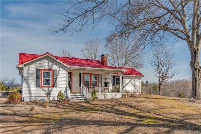 Mill Spring Single Family Home Under Contract-Show: 355 Big Level Road