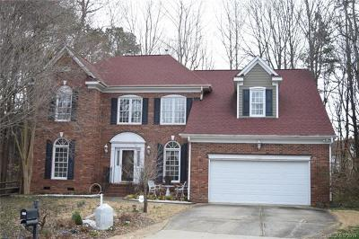 Charlotte Single Family Home For Sale: 12521 Marblerock Court
