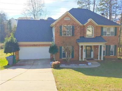 Charlotte NC Single Family Home For Sale: $285,000