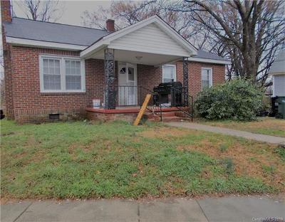 Concord NC Single Family Home For Sale: $79,500