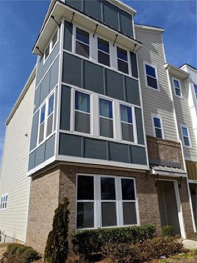 Condo/Townhouse For Sale: 2535 Statesville Avenue